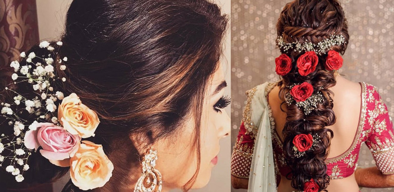 From Mehendi To Reception Bridal Hairstyle Ideas For Wedding And